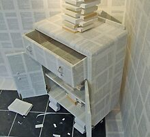 Book Installation Furniture. by Andrew Nawroski