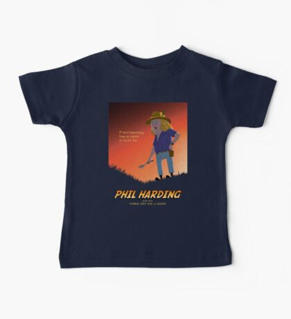 Phil Harding - Time Team Baby Tee