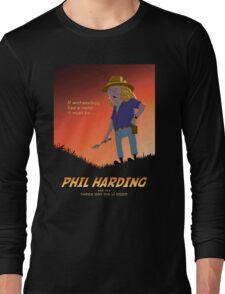Phil Harding - Time Team Long Sleeve T-Shirt