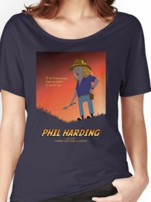 Phil Harding - Time Team Women's Relaxed Fit T-Shirt