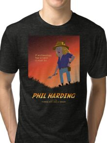 Phil Harding - Time Team Tri-blend T-Shirt