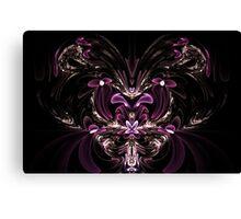 Hearts & Bows Canvas Print