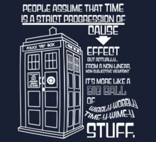 Doctor Who & The Tardis - Timey Wimey/Wibbly Wobbly Stuff by CelestialBean