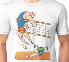 Funny Volleyball Unisex T-Shirt