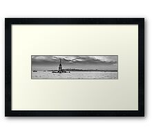 Maiden's Tower All Alone Framed Print