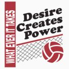 Volleyball What Ever It Takes by SportsT-Shirts