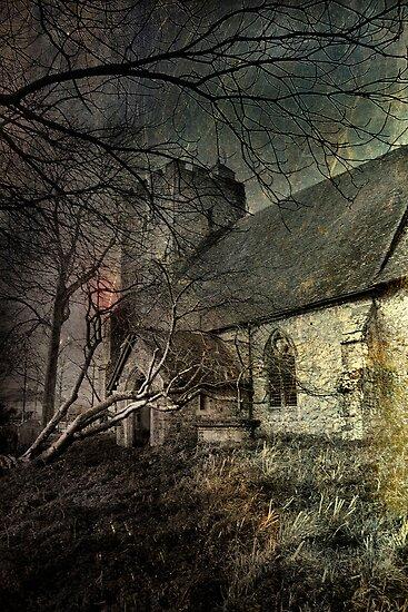 Snave Church by Dave Godden