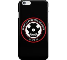 K9 Patch (Red and black) iPhone Case/Skin