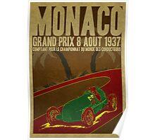 Monaco GrandPrix Poster