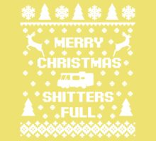 Merry Christmas Shitters Full Kids Tee
