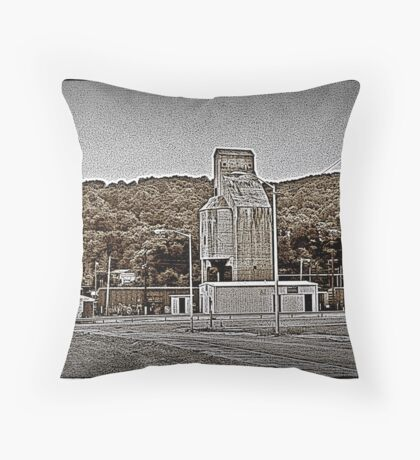 Concrete Rising Throw Pillow