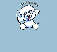 Bichon Frise :: Its All About Me Womens Fitted T-Shirt
