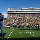 Marching Band, Colorado Buffaloes NCAA game  by Jessica Duley