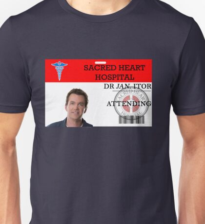 Dr Jan Itor Unisex T-Shirt