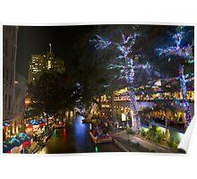 River Walk, San Antonio, TX Poster
