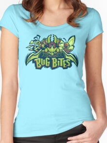 Team Bug Types - Bug Bites Women's Fitted Scoop T-Shirt
