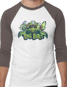 Team Bug Types - Bug Bites Men's Baseball ¾ T-Shirt
