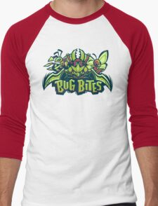 Team Bug Types - Bug Bites Men's Baseball ¾ T-Shirt