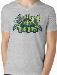 Team Bug Types - Bug Bites Mens V-Neck T-Shirt