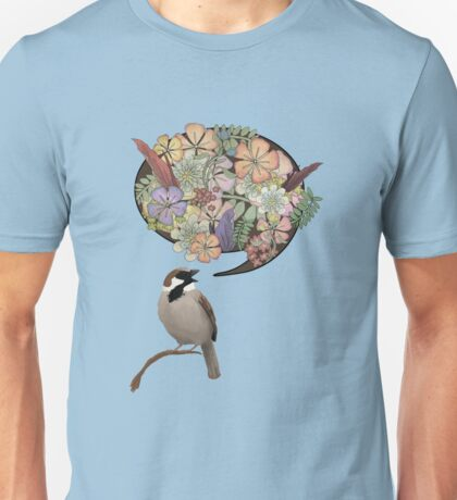Sparrow Singin' Unisex T-Shirt