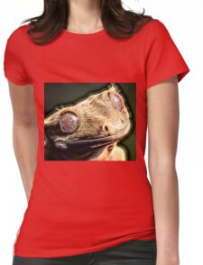 Wild nature - reptile Womens Fitted T-Shirt