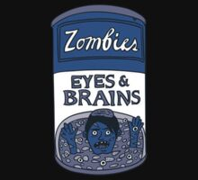 Zombies - Brains & Eyes Soup Kids Tee