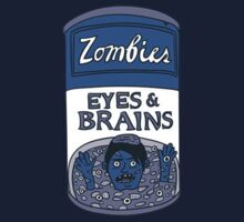 Zombies - Brains & Eyes Soup One Piece - Short Sleeve