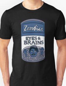 Zombies - Brains & Eyes Soup Unisex T-Shirt