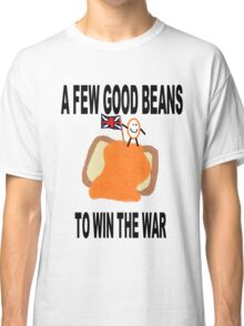 Beans Not War Classic T-Shirt