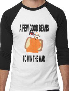 Beans Not War Men's Baseball ¾ T-Shirt