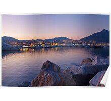 Glamorous Sunset over Puerto Banus Poster