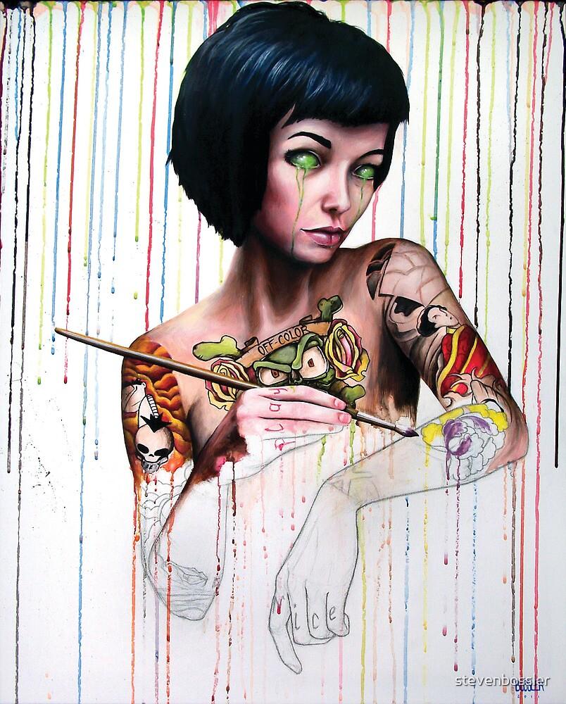 Off color Clara by stevenbossler