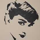 Audrey Hepburn by Ant-Acid
