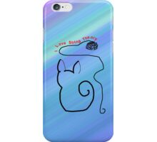 String Theory Cat 1 iPhone Case/Skin
