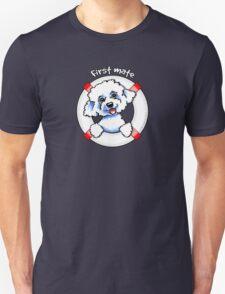 Bichon Frise :: First Mate T-Shirt