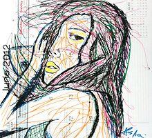 Calendar Girl 08 by alecmorrison