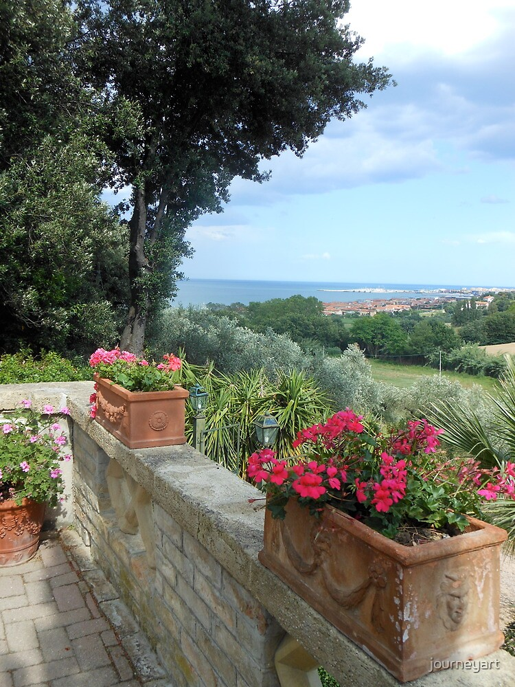 Villa View near Fano by journeyart