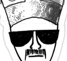 Heisenberg for Pope Sticker