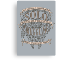 Solo Smuggling Canvas Print