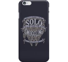 Solo Smuggling - Dark iPhone Case/Skin