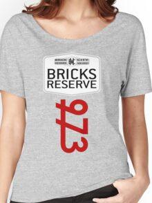 'Bricks Reserve' Women's Relaxed Fit T-Shirt