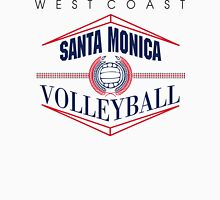 Santa Monica California Volleyball Womens Fitted T-Shirt