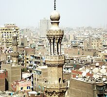 Cairo From Above by Relnahas