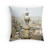 Cairo From Above Throw Pillow