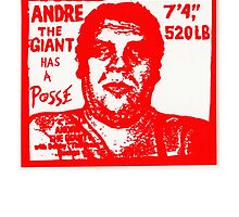 Andre The Giant by DrAwesome
