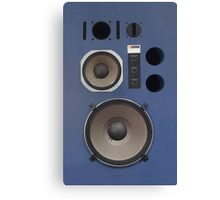 vintage hifi speaker front Canvas Print