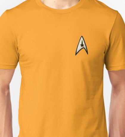 Star Trek command badge Unisex T-Shirt