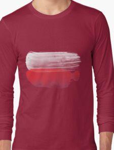 Poland Flag polska Long Sleeve T-Shirt