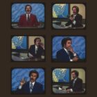 Anchorman - Ron Bergundy - TV Ron by Graham Lawrence