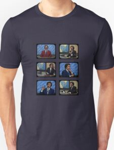 Anchorman - Ron Bergundy - TV Ron T-Shirt